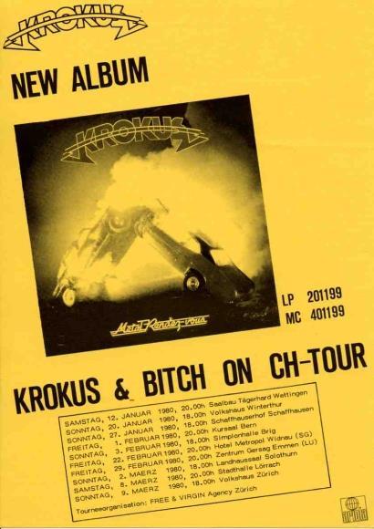 Ariola Records Tour Ad