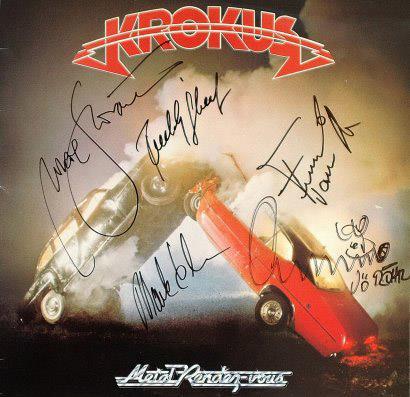MRV signed album cover