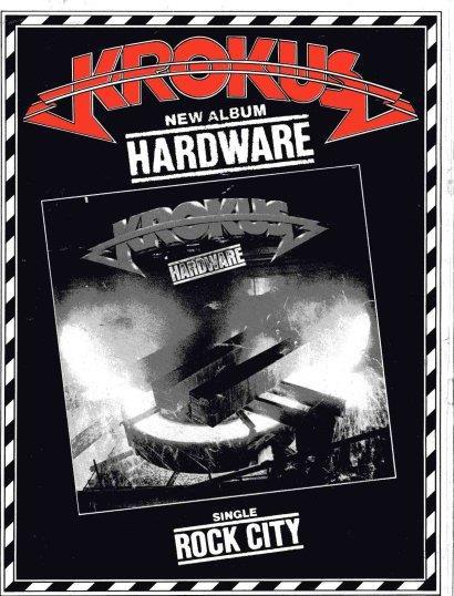 Hardware Tour Book Ad