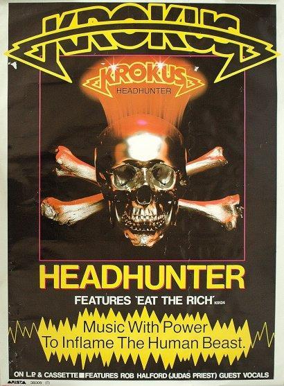 HEADHUNTER Poster Ad