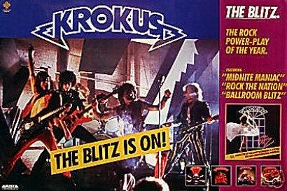 BLITZ Record Ad Poster