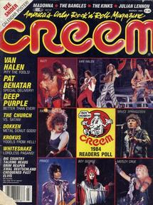 Creem - March 1985