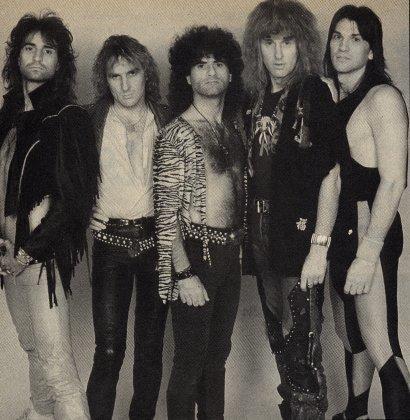 Metal Creem Magazine Photo 1988