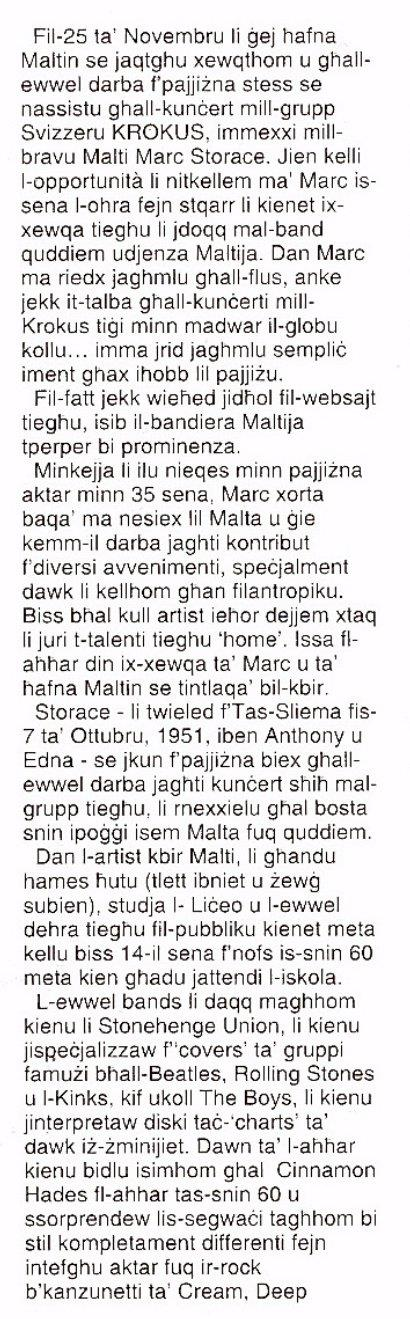 Muzika Malta 2006