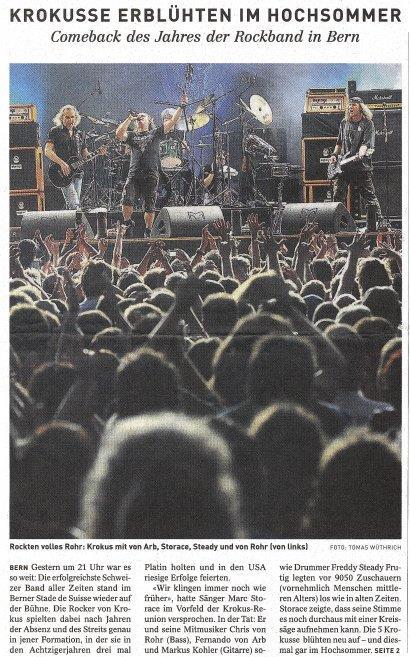 Sonntags Zeitung Bern