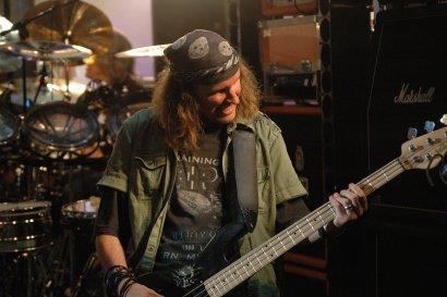 Chris Von Rohr on bass