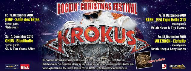 Rockin' Christmas Festival Poster