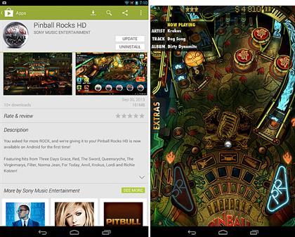 Pinball Rocks HD Game
