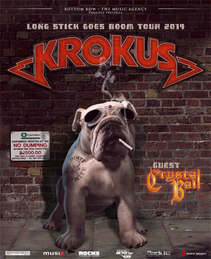 Long Stick Goes Boom Tour 2014
