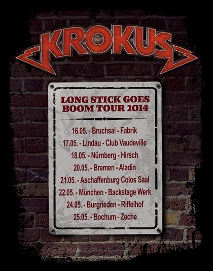 German Tour Dates 2014