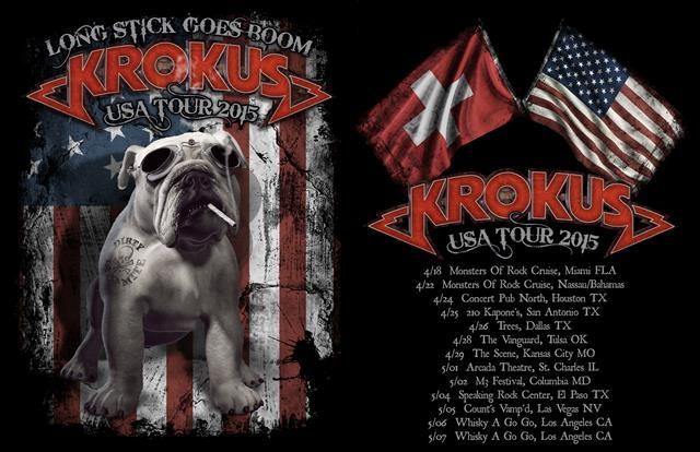 USA Tour Dates 2015