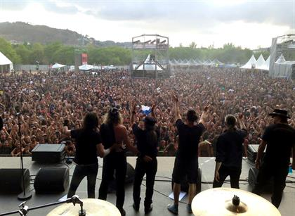 Rock Fest Barcelona - Spain July 25th, 2015