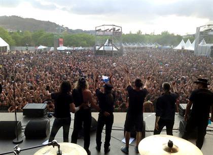 Rock Fest Barcelona - Spain July 25th, 2015