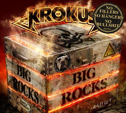 BIG ROCKS cover with sticker