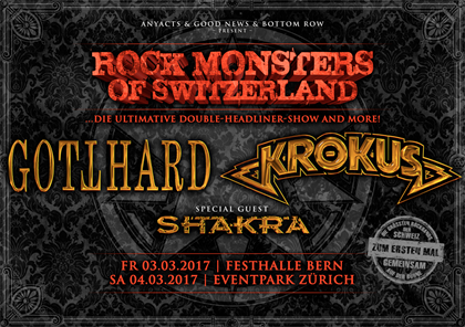Rock Monsters Of Switzerland