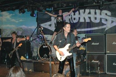 Tony, Stefan, Mandy & Marc during 2nd encore
