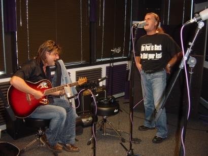 Tony & Marc at 103.50FM The Fox Studios