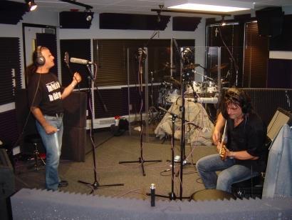 Marc & Tony At Fox Studios 103.5FM