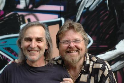 Fernando & Peter at 'Kofmehl' Rehearsal Hall in Solothurn