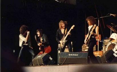 Marc, Tommy, Fernando & Chris rocking it out