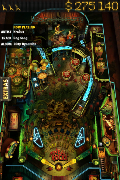 KROKUS on iTunes PINBALL ROCKS HD game app